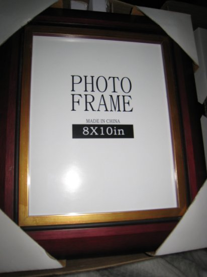 I PICTURE PHOTO ART certificate FRAME HOME DECOR 8X10 WOODEN PAINTING