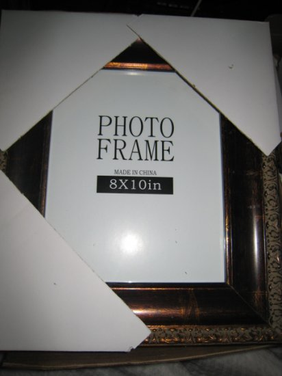 J PICTURE PHOTO ART certificate FRAME HOME DECOR 8X10 WOODEN PAINTING