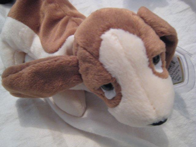 #24 beagle dog BEANIE BABY DOLL STUFF ANIMAL TOY KIDS CHILDREN HOME GIFT BIRTHDAY