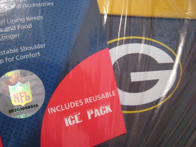 GREENBAY NFL OFFICIAL LICENSED BABY BOTTLE COOLER FOOTBALL ICE PACK BAG SPORTING SPORTS camera