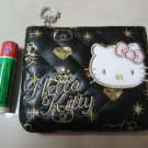 HELLO KITTY black gold coin PURSE BLING WOMEN'S ACCESSORY