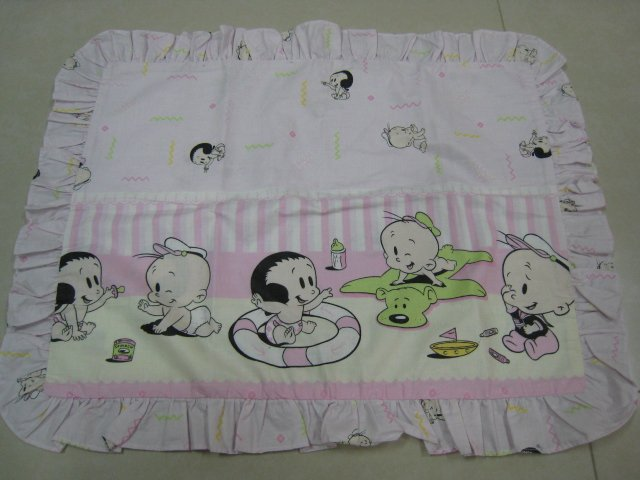 BABY POPEYE OLIVE KIDS BABY LINEN PILLOW PILLOWCASE SHEET BED BEDROOM COTTON SOFT TRIMMING