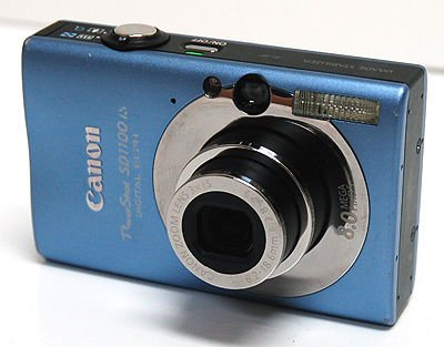 CANON POWERSHOT SD1100 BLUE ELECTRONICS DIGITAL CAMERA PHOTO