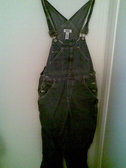 OLD NAVY SMALL MATERNITY OVERALL BLUE JEANS JUNIOR'S SEXY WOMEN'S PANTS DENIM CLOTHES CLOTHING