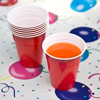 PARTY SUPPLY 16 OZ. LOT 48 HOME OFFICE CUP CUPS DRINKING KITCHEN BIRTHDAY COLLEGE DORM