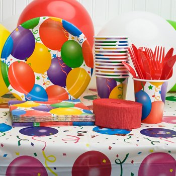 PARTY SUPPLY BIRTHDAY NAPKIN CUPS PLATES  LOT 72 HOME OFFICE tissue KITCHEN BIRTHDAY COLLEGE DORM