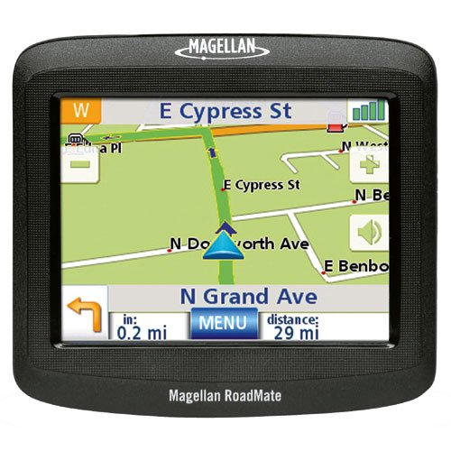 CAR NAVIGATION GPS MAGELLAN ROADMATE 1212 READS STREET NAMES ELECTRONIC TRAVEL AUTO ACCESSORY PARTS
