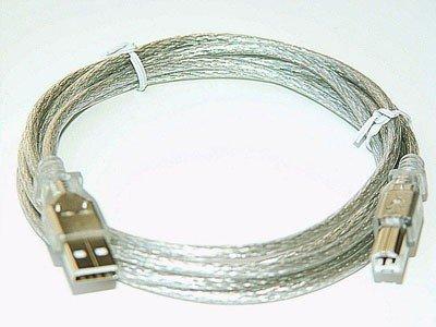 6FT USB 2.0 PRINTER CABLE A-B For HP DELL SAMSUNG KODAK computer accessory lot 2