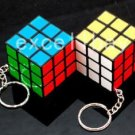 Rubik's cube Puzzle Magic Game Toy Keychain gift collectible party favors lot 2 IQ TEST kids travel