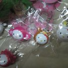 BOAR PIG HELLO KITTY CHARM PHONE ACCESSORY IPOD key CHAIN NECKLACE knitting crochet stitch markers