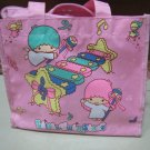 boy girl little twin stars HELLO KITTY LUNCH BAG TOTE PINK WOMEN'S KIDS ACCESSORY PICNIC PURSE BAG