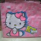 HELLO KITTY kt cheerleader hearts LUNCH BAG TOTE PINK WOMEN'S KIDS ACCESSORY PICNIC PURSE BAG