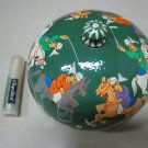 POLO SIX HORSES MEN JEWELRY ROUND BOX TOP GIFT COLLECTIBLE HOME DECOR GREEN PAPER