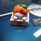 orange box HELLO KITTY CHARM decorative figurine collectible gift cartoon kids figure doll miniature