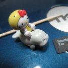 dolphin turtle HELLO KITTY CHARM decorative figurine collectible gift cartoon kids figure doll