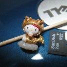 gold dragon HELLO KITTY CHARM decorative figurine collectible gift cartoon kids figure doll
