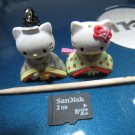 female empress HELLO KITTY CHARM decorative figurine collectible gift cartoon kids figure doll