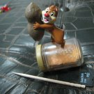 DISNEY CHIP DALE CHIPMUNK PEANUT BUTTER JAR decorative figurine collectible gift doll