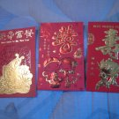 D - GIFT RED ENVELOPE FUN HOME DECOR BIRTHDAY WEDDING CHINESE NEW YEAR