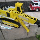 TOY CRANE YELLOW AS-IS BIG KIDS tractor CHILDREN VINTAGE COLLECTIBLE FIGURINE