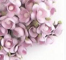 PURPLE LAVENDER SCRAPBOOK WEDDING BIRTHDAY GIFT 20 LOT FLOWERS PAPER