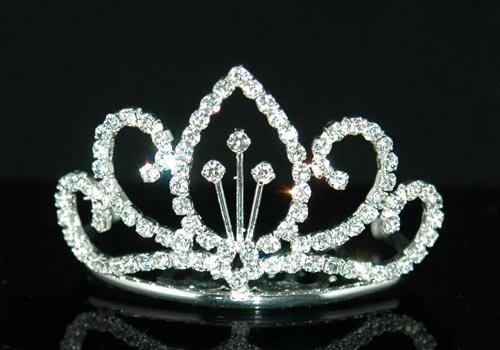D sweet 16 birthday bridal flower girl rhinestone mini Headband TIARA HEADBAND women's accessory