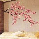 pink color - CHERRY BLOSSOM Decor Mural Art Wall Sticker Decal interior home design