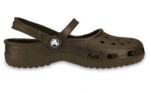 8 chocolate brown WOMEN'S CROCS SHOES SANDAL SLIPPER SANDALS mary jane ACCESSORY =