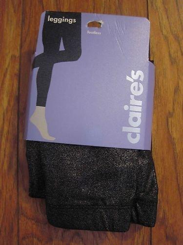 CLAIRE RIPPED LEGGING BLACK PANTS JUNIOR GIRLS MEDIUM M CLOTHING