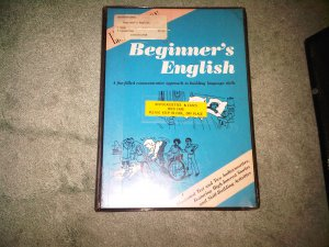 casette audio english beginner book books home family lesson education