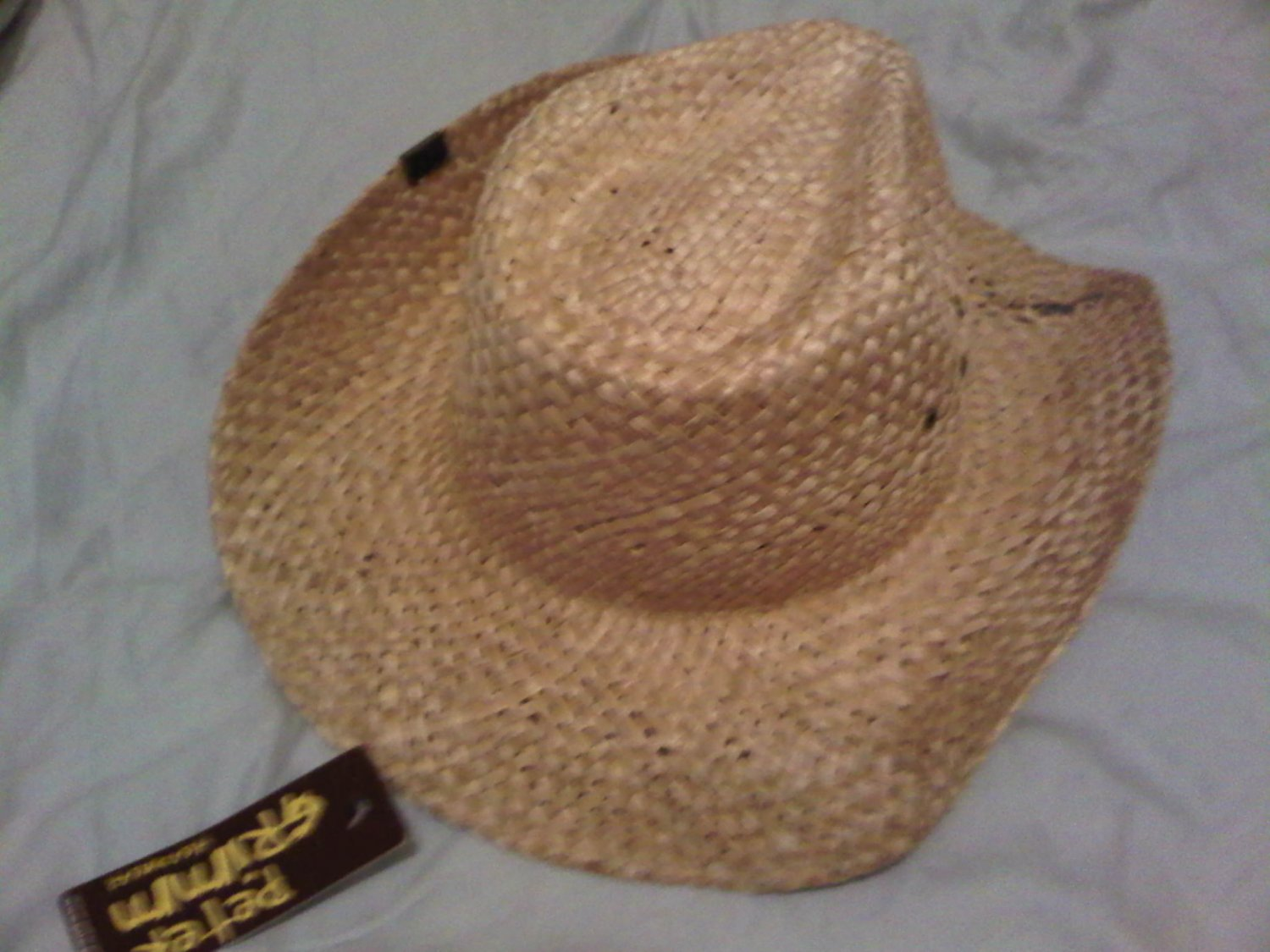 PETER GRIMM STRAW HAT QUALITY FARMER COWBOY GARDEN HORSE WOMEN'S MEN'S ACCESSORY CLOTHING CLOTHES