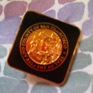 C SAN FRANCISCO CITY COUNTY VINTAGE PIN DECORATIVE COLLECTIBLE HOME MEN'S WOMEN'S CLOTHING ACCESSORY
