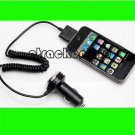 New Quality Auto Vehicle Car Charger for Iphone 4G 3GS 3G Black phone accessory