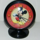 "B Disney Mickey Mouse Desk Alarm Clock 5"" Tall NEW GIFT KIDS ROOM HOME DECOR COLLECTIBLE"