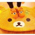 San-X Rilakkuma Relax Bear Mat Rug Carpet For Living Room Dining Room Bedroom