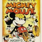 vintage mickey mouse mickey's nightmare poster size mirror collectible decorative