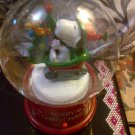SNOOPY X'MAS SNOWGLOBE DECORATIVE COLLECTIBLE TOY