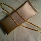 Long gold 14k thailand necklace chain jewelry women's clothing accessory