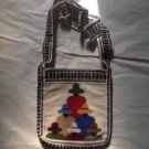B Wool art bag Indian handbag women's accessory decorative collectible