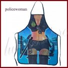 Sexy cop apron cooking kitchen home fun costume clothing women's mens