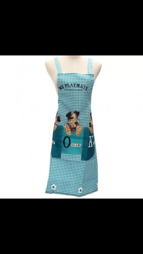 Sexy green dog apron cooking kitchen home fun costume clothing women's mens