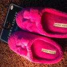 Pink girls Laura Ashley slippers small 5 6 kids clothing accessory dressup