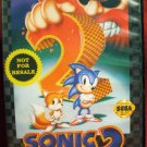 Sonic the Hedgehog 2 Sega Genesis Game Complete