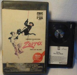 Zorro the Glay Blade Beta Tape