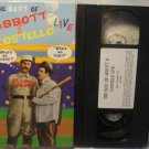 The Best of Abbott & Costello Live VHS