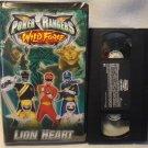 Power Rangers VHS Wild Force Lion Heart