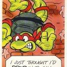 Raphael Birthday Greeting Card - Ninja Turtles - TMNT