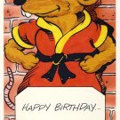 Master Splinter Birthday Greeting Card - Ninja Turtles - TMNT