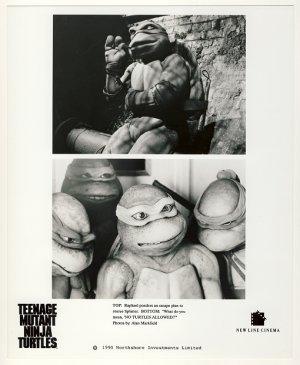 Michaelangelo & Turtles Promo Press Photo - Ninja Turtles - TMNT