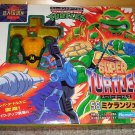"Japanese ""Super Turtles"" Michaelangelo Action Figure - Ninja Turtles - TMNT"